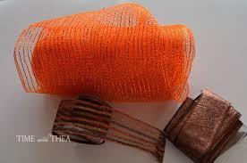 deco mesh ribbon easy deco mesh and ribbon fall wreath wreaths mesh ribbon and