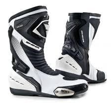 motorcycle footwear mens shima rsx 6 white men motorcycle sport boots bestseller