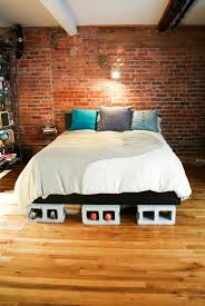 Concrete Block Bed Frame 20 Creative Uses Of Concrete Blocks In Your Home And Garden Bed