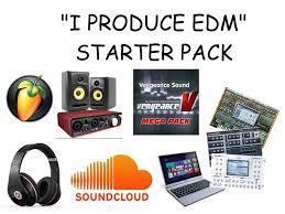 Music Producer Meme - i produce edm starter packs know your meme