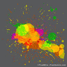 15 sets of free illustrator splatter brushes and vector