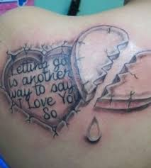letters and adorable heart tattoo tattoomagz