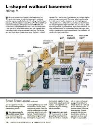 home workshop plans workshop layout american woodworker home workshop pinterest