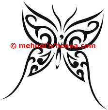 butterfly henna tattoos hennas and