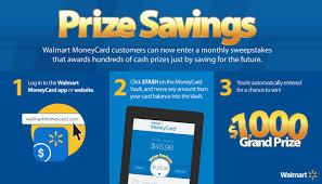 walmart u0027s prize savings sweepstakes drives customers to save for a