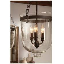 Hundi Light Fixture by Pottery Barn Hundi Lantern Bell Jar Pendant Only 40 Watt Bulbs