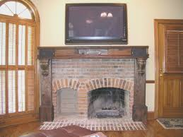 fireplace cool how to tile a brick fireplace style home design