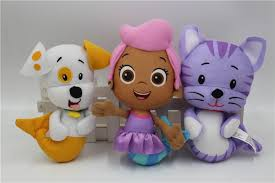 aliexpress buy nickelodeo bubble guppies plush doll toy