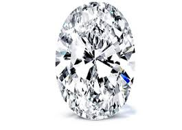 oval cut diamond 1 25 carat h si1 oval diamond certified 2151981611 excellent