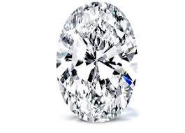 oval cut diamond 1 25 carat h si1 oval diamond certified 2151981611 excellent