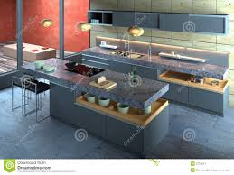 luxury modern kitchen design luxury modern kitchen interior stock image image 2750211