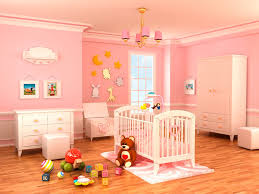 contemporary nursery with hardwood floors by home stratosphere
