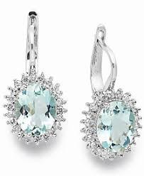 aquamarine earrings aquamarine earrings shop aquamarine earrings macy s