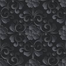 flowers seamless pattern element vector background vector flower seamless pattern element volumetric stock vector