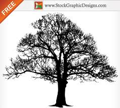 free tree silhouette vector graphics free backgrounds free