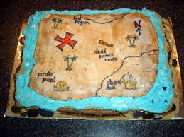 pirate treasure map cake cakecentral com