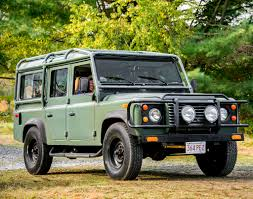 convertible land rover vintage 1987 land rover defender 110 classic cars today online