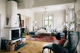 Living Room Designs With Red Brick Fireplace Living Room Vintage Scandinavian Living Room Design With Small