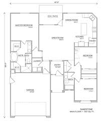 Garden House Plans Patio Home Plans Sandstone Layout 884x1024 Garden House For
