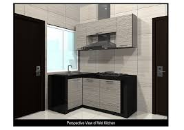 Wet Kitchen Design by Mica Interior Design And Construction July 2011