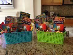 filled easter baskets boys easter basket for boy some bunny s comin to town