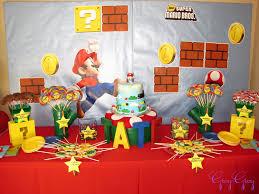 greygrey designs my parties super mario birthday party