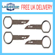 ford sony 6 disc cd stereo radio removal releasa tools keys