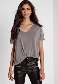 v neck t shirts womens v neck tops missguided