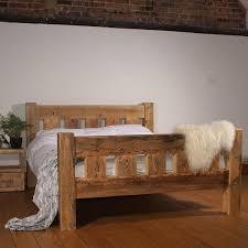 oak and reclaimed wood bedroom furniture