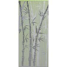 rideau de porte en bambou 90 x 200 cm castorama