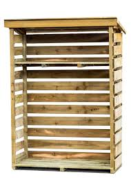 wood store prebuilt or flatpack log store for your firewood