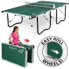 rec tek ping pong table indoor ping pong table ebay