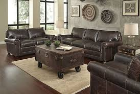 Leather Sofa And Chair Set Henderson Ship 3 Leather Sofa Loveseat Chair Set