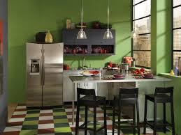 kitchen green wall with steinless countertops diy kitchen