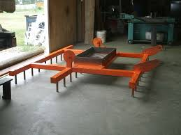 Harrows Outdoor Furniture by Rapid Creek Cutters Industrial Metal Fab With Waterjet Plasma