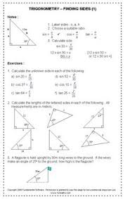 triangles worksheets ideas pinterest worksheets