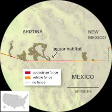 Us Mexico Border Map by The Ecological Disaster That Is Trump U0027s Border Wall A Visual