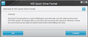 format wd elements external hard drive for mac how to format external drives using wd quick formatter in windows or