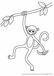 printable monkey coloring pages colobus monkey mandrill monkey eating leaves coloring pages
