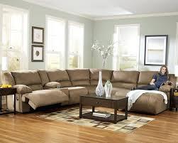 U Sectional Sofas by U Shape Microfiber Reclining Sectional Sectional Sofa With Chaise