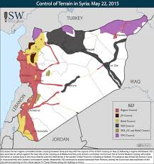 Where Is Syria Located On The Map by Isis Control Of Territory Business Insider