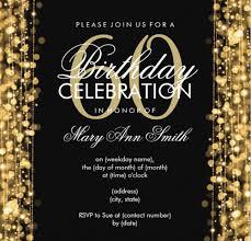 birthday invitation card 60 birthday invitations drteddiethrich