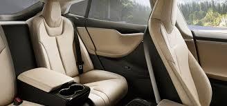 Tesla Carbon Fiber Interior Tesla Model S P85d All Electric Luxury Sports Car 2015 Model