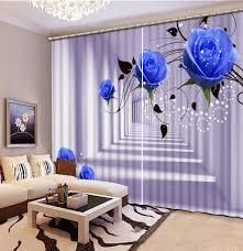 Elegant Living Room Curtains 3d Curtains Elegant Promotion Shop For Promotional 3d Curtains