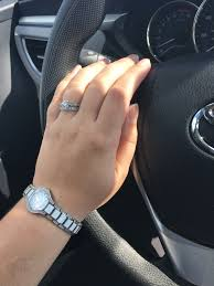 car girl rings images What 39 s your ring style simple or fancy setting JPG