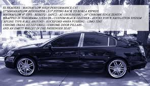 Nissan Altima Black Interior Xxloganxx 2002 Nissan Altima Specs Photos Modification Info At