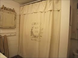 bathrooms farmhouse chic shower curtain sink skirts for bathroom