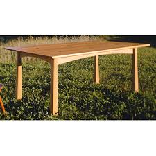 cherry moon dining tables solid top u0026 extension handmade in vt