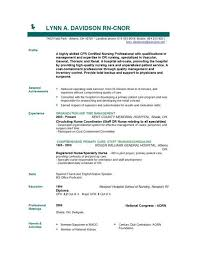 Good Nursing Resume Examples by Entry Level Nursing Resume Berathen Com
