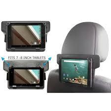tablette pour siege auto suport tablette pour voiture repose tete 7 achat vente pas cher